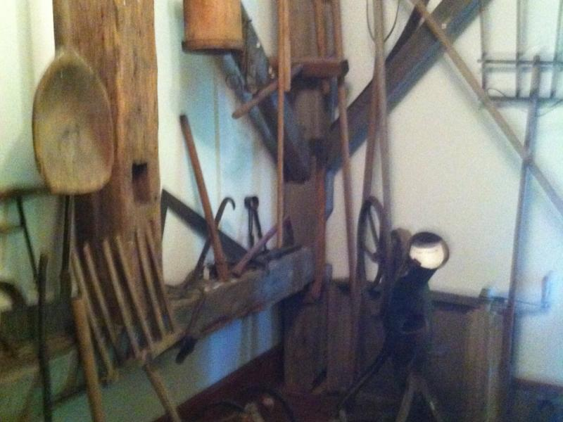 Like Knox, Berne is a hilltown with quite a bit of historic farm equipment stored away, which is mostly made of wood.