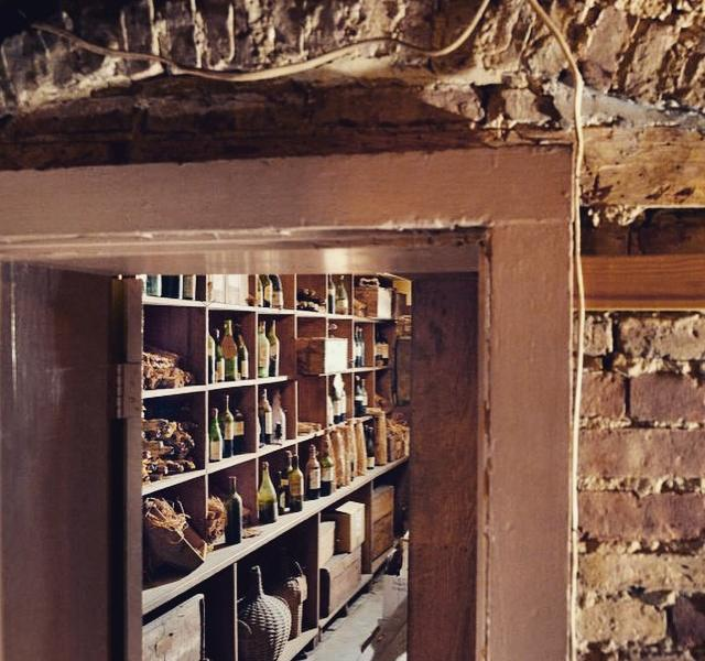 "The wine cellar is purported to be the oldest working wine cellar in the country. When it was rediscovered in 1977 it was said to contain ""the most important cache of rare wines discovered in America""."