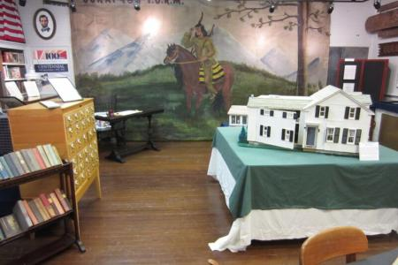Exhibit Spaces of the New Scotland Historical Society